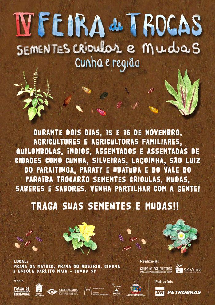 IV Feira Sementes Cunha Convite web